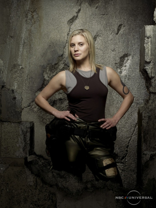 Kara Thrace aka Starbuck in Battlestar Galactica